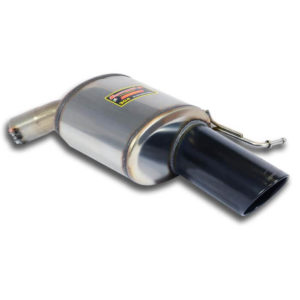 Rear exhaust Right Black O120