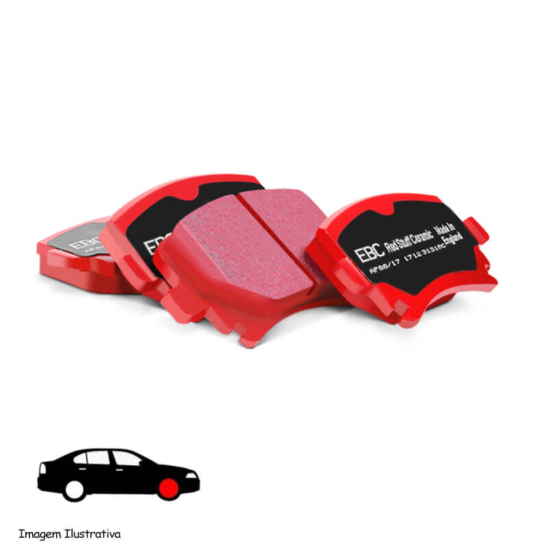 EBC REDSTUFF FRONT PADS DP3839C FOR NISSAN ALMERA 2.0 96-2000